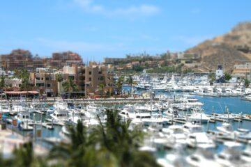 Navy Pier in Cabo San Lucas, Baja California Mexico